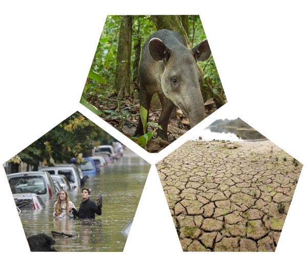 danta sequia inundacion